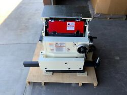 Shop Fox - W1811 5 Hp Commercial Sliding Table Saw 10-inch Incomplete Set