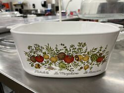 Vintage Antique Corning Ware 5 Qt With Pyrex Lid Included