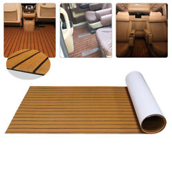 New 106and039and039x35and039and039 6mm Marine Yacht Rvs Teak Decking Flooring Eva Foam Boat Sheet Us