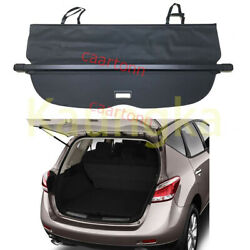 Rear Trunk Security Cargo Cover Privacy Black Shade For 2008-2014 Nissan Murano