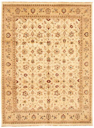 Vintage Hand-knotted Carpet 8and03910 X 11and03910 Traditional Oriental Wool Area Rug