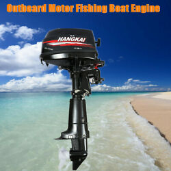 6hp 2-stroke Outboard Motor Fishing Boat Engine With Cdi Water Cooling System Us