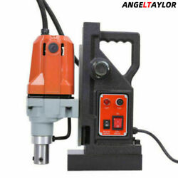 Md40 Magnetic Drill Press Boring Magnet Force 2700lbs 1-1/2