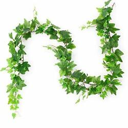 Artificial Ivy Leaves Plant Garland Hanging Fake Foliage Vine Home Kitchen We...