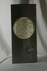 French Gliter Lamp Vintage 70's Space Age Psychedelic Design