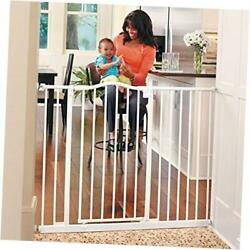 46.8 Wide Tall And Wide Portico Arch Baby Gate Heavy Duty Metal Gate That's
