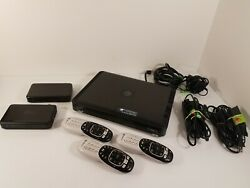 Direct Tv Hr54-200 Hd Dvr Digital Sat Receiver W/ 2 Genies 3 Remotes And Cables