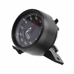 Dashboard Clock Stopwatch Lap Timer Gauge High Accuracy For 17-20 Black