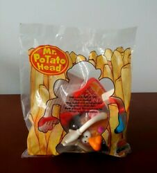 1999 Burger King Kids Meal Toy Mr Potato Head With Bk Sign New Sealed Bag Rare