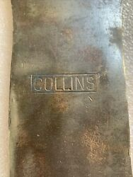 Vintage Collins Double Bit Axe As Found