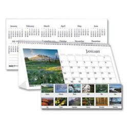 House Of Doolittle 3649 Recycled Scenic Photos Desk Tent Monthly Calendar 8.5 X