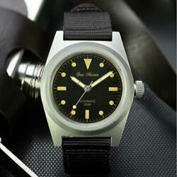 San Martin Pilot Watch 38mm Vintage Military Nh35 Automatic Mechanical Watches