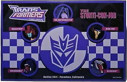 Trans Formers Animated Timeline 2011 Botcon