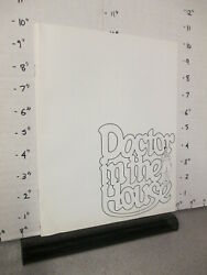 Nbc Tv Show Promo 1970s Doctor In The House Tv Guide Ad Booklet Barry Evans
