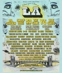 2 Ga Once Upon A Time In La Concert Festival Snoop Dogg Ice Cube Al Green Ticket
