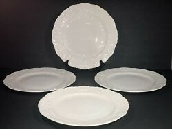 Pope Gosser China Rose Point By Steubenville Dinner Plates 4