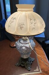 Antique Lamp And Shade