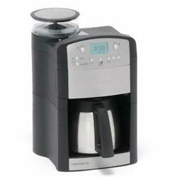 Fresh Coffee Capacity 10-cup Thermal Carafe Conical Burr Grinder ,compact Space