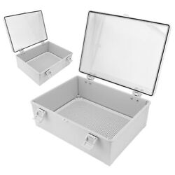 Abs Plastic Junction Box Case Electric Project Enclosure Waterproof With Buckle