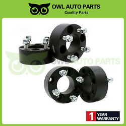 Set 4pc 2 4x4 Wheel Spacers Adapters For Ez Go Club Car Golf Cart 1/2x20 Studs
