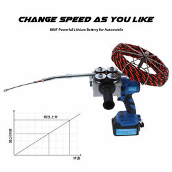 Automatic Electric Cable Threading Machine Wire Puller Pulling Tool Kit 700n New