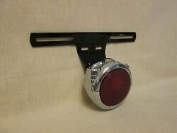Electroline 1932-34 Ford Hot Rod Tail Light And License Plate Bracket N. Mint