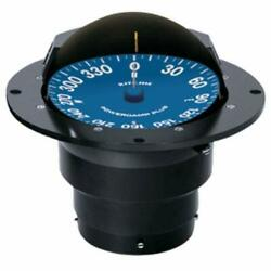 Ritchie Supersport Flush Mount 5 In Powerdamp Flat Dial Compass Black Ss-5000