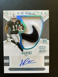 Henry Ruggs Iii Rc 2020 Crown Royale Silhouettes Nike Logo Rpa Auto 2/2