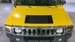 03-07 Hummer H2 Complete Loaded Hood W/ Lights And Grille Yellow 43u