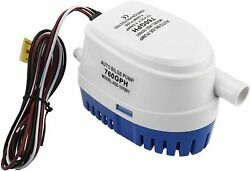 Automatic Submersible Boat Bilge Water Pump With Auto Float Switch 12v 760gph