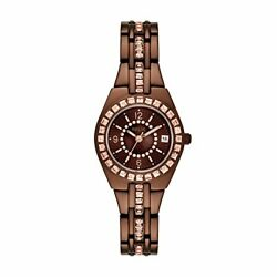 Relic By Fossil Women's Queen's Court Analog-quartz Watch With Alloy Strap Br...