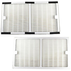 Hqrp 2-pack Hepa Filter For Idylis Type C Parts Iaf-h-100c/0412555 Replacement