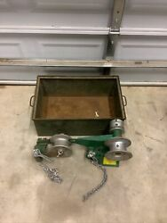 Greenlee 442 Wire Cable Puller Attachment For 446 Porta Tugger Ed4u 9132