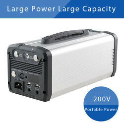 Portable Power Station Generator 12v 222wh Emergency Power Bank Supply Camping