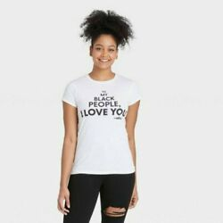 Mess In A Bottle Black History Month Womens #x27;To My Black People I Love You#x27; L