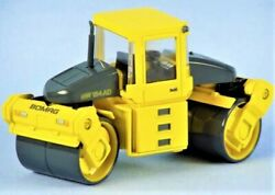 Bymo 42401 Bomag Bw184 Double Drum Roller 1/50 Die-cast Mib