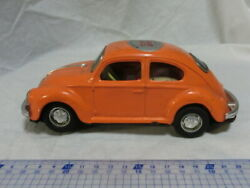 Tin Made In Japan By Shinsei Volkswagen Vw Beetle Total Length About 19 Fb Car