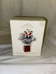 Hallmark 2008 I Want A Hippopotamus For Christmas Mint In Box - Tested - Works