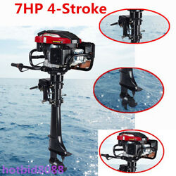 4-stroke 7hp Outboard Motor Fish Boat Engine+air Cool System 196cc Ce Best Sale