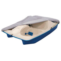Pedal Boat Cover Fits 3-5 Person Boats Polyester Heavy Duty Accessories Gray New