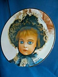 The Bru Collectorand039s Plate Old French Dolls By Mildred Seeley Rare First Edition