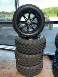 New Msa M12 14 Wheels And 23 Efx Performance Tires Set Of 4 32x10r15 M12-14