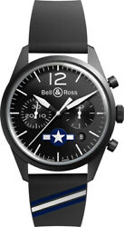 New Bell And Ross Vintage Original Br 126 Insigna Us Limited Edition Menand039s Watch