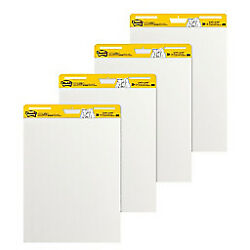 3m - Note Pad - Post-it Super Sticky Easel Pad Whitep 25 X 30, White