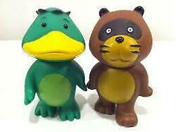 Dc Card Kappa Raccoons Soft Vinyl First Ver Figure And Tanuki Out Of Print