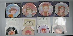 Set Of 4 Edna Hibel A Tribute To All Children Series Collector's Plates Mib