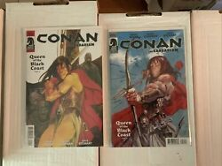 Conan The Barbarian 2012 1-25, Complete Wood And Cloonan Dark Horse, Vf/nm