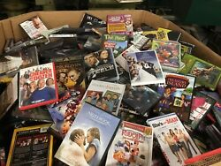 Lot Of 100 Adult Dvd Assorted Movies And Tv Shows Random Mixed Lot Pg-r Used