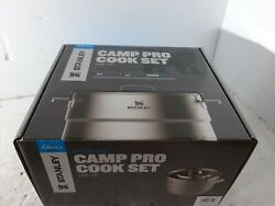 Stanley Even Heat Camp Pro Cookset 11-piece Camping Cookware Set Stainless Steel
