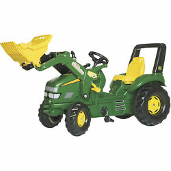 John Deere Children's Toy Ride-on Pedal Tractor With Front Loader